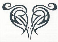 TRIBAL HEART SEXY Temporary Tattoo