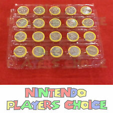 X20  NES, Super Nintendo, N64, Sega Genesis Save Game Batteries CR2032 With Tabs