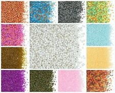 CHOOSE COLOR! 10g 11/0 (1.6mm) Miyuki Delica, Japanese Seed Beads