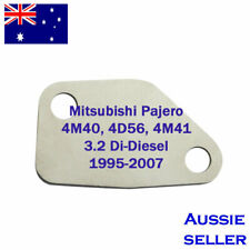 EGR Blanking Plate for 216 Mitsubishi Pajero 4M40, 4D56, 4M41 3.2 Di-D Diesel 19