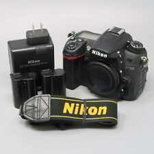 Nikon D7000 16.2MP Digital SLR Camera - Black (Body Only) - 5,516 Clicks!
