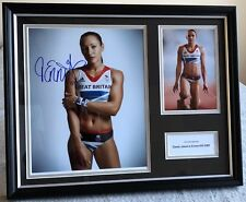 Jessica Ennis Signed London Olympics 2012 Display & COA! Autograph Memorabilia