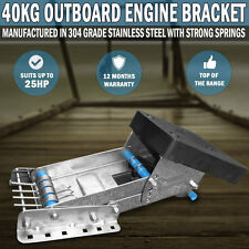 Outboard 40Kg, Max 30hp Mount Motor Engine Bracket Boat Dingy Marine Auxiliary