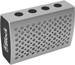 Block Connect One Bluetooth Lautsprecher Silber / Aux / Akkubetrieb