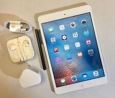 #GRADE A - # Apple iPad Mini 64 GB, Wi-Fi, 7.9 in (approx. 20.07 cm) - blanco + extras