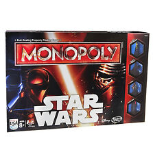 STAR WARS THE FORCE AWAKENS - Monopoly Board Game 2015 Edition - Hasbro NEW