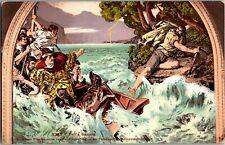 Tell's Sprung, William Tell Vintage Postcard S26