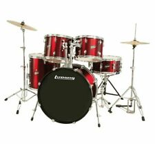 Ludwig LC1754 Accent Drive Complete Drum Kit, Wine Red