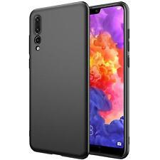 Ultra Slim Case Huawei P20 Pro Handy Hülle Schutzhülle Silikon Schwarz Tasche