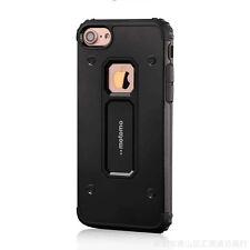 Nuevo Moda Antichoque Metal+TPU 2in1 Funda Híbrida para iPhone 6 6S 7 7Plus