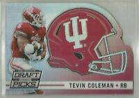 Tevin Coleman Falcons Indiana 2015 Panini Prizm Draft Picks HELMET DIE CUTS