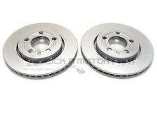 VW GOLF MK4 2.3 V5 2.8 V6 4MOTION 1999-2004 REAR 2 VENTED BRAKE DISCS SET