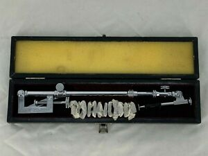 Vintage Holbein Lucida Camera Japan Artist Tracing Chrome Arm Drawing w Case