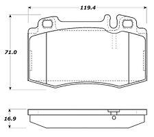 StopTech Street Brake Pads fits 1993-2007 Mercedes-Benz SL600 SL500 CL500  STOPT