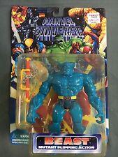 Toy Biz Marvel Comics Marvel Universe Beast Mutant Flipping Action Figure New