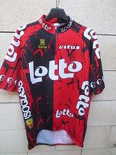 Maillot cycliste LOTTO ISOGLASS 1996 jersey trikot shirt NELISSEN vintage 5 XL