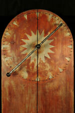 Ancienne grande roue de la fortune, art populaire forain c.1940 / Manège foire