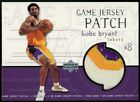 KOBE BRYANT 1999-00 Upper Deck UD #GJP27 Game Worn Jersey Patch Lakers 3 COLOR
