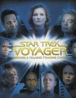 Star Trek Voyager Heroes & Villains Card Album