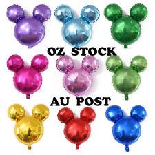 Jumbo 63cm Mickey Mouse Shape Foil Balloon Kids Birthday party Xmas Decoration