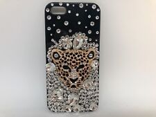 FOR IPHONE 5 CASE LUXURY BLING CRYSTAL DIAMOND 3D COVER -tiger