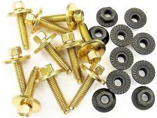 Alfa Romeo Body Bolts & Flange Nuts- M6-1.0mm x 28mm Long- 8mm Hex- Qty.20- #382