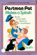 (Good)-Postman Pat Makes a Splash (Postman Pat Easy Reader) (Paperback)-Cunliffe