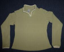 Patagonia Water Girl Chartreuse Moss Fleece Pullover, Women's sz M