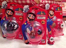 Bob-omb Goomba Bullet Bill Shy Guy Super Mario Mini Figure Collection New Loose!