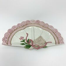 New ListingOmnibus By Fitz & Floyd Victorian Fan Plate Thinking of You Valentine's Day Gift