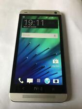HTC One M7-argento (sbloccato) - 32GB-Smartphone grado B-vedi descrizione!