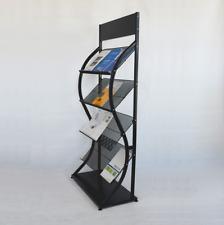 Magazine Floor Stands Multi Layers Brochure Holder Rack Display Large