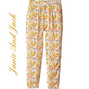 Janie And Jack Baby Girl Floral Pants