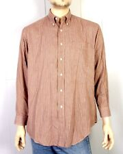 vtg Brooks Brothers euc USA Relaxed Fit Microhoundstooth Dress Shirt M 15.5 3