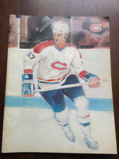 1980-81 MONTREAL CANADIENS OFFICIAL MAGAZINE GUY LEFLEUR FRENCH & ENGLISH