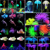 Fish Tank Landscape Artificial Clownfish Coral Plant Decor Ornament For Aquarium