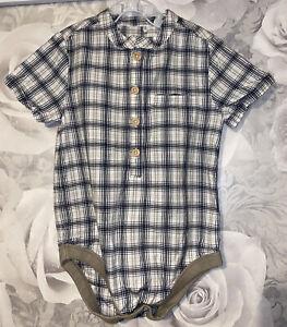 Boys Age 18-24 Months - Short Sleeved Shirt / Bodysuit