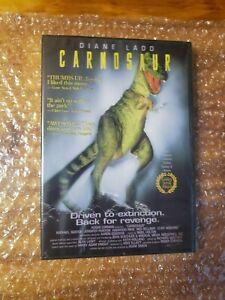 Carnosaur (DVD) Roger Corman- Diane Ladd- CULT CLASSIC- BRAND NEW- VERY RARE OOP
