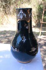 Vase aux Bleuets Faïence de Lunéville
