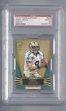 Drew Brees Card 2012 Topps Supreme #45 Green Factory Numbered 3/15  PSA 9 MINT