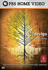 E2 DESIGN Season Three DVD PBS Home Video Six Episodes Public Broadcasting Nice