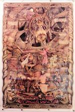 "Dracula'S Castle by Al Lorenz rare poster 24.25"" X 36.25"" Nos (b496)"