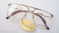 Colani Brille extragroße Pilotform Designerbrille Vintage 70er gold Grösse M