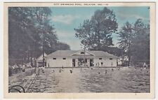 New listing INDIANA DECATUR SWIMMING POOL, POSTED 1936 TO CLAIR SAMPSON OF FINDLAY, OHIO