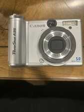 Canon PowerShot A95 5.0MP Digital Camera - Silver - USED