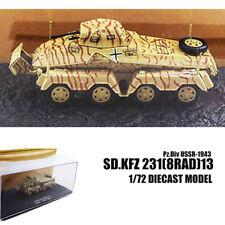 WWII Sd.Kfz 231(8Rad)13 Pz.Div USSR-1943 1/72 DIECAST MODEL TANK IXO