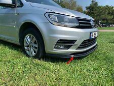 Für VW CADDY IV ab 2015 Front Ansatz Frontsplitter Lippe Kunststoff (Schwarz)