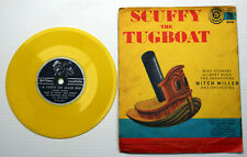 Little Golden Record SCUFFY THE TUGBOAT / POPEYE theme song 78 yellow vinyl 1957
