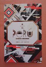 STARBUCKS 2015 - Series Reserve Tasting Card PERU BAGUA GRANDE - NEW
