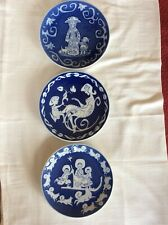 "3 Royal Copenhagen Mothers Day Plates, 8"", 1071, 1973, 1974"